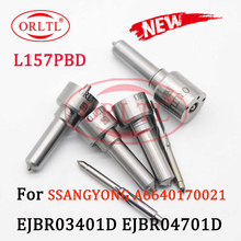 4PCS ORLTL L157PBD Kraftstoff Injection Düse L157 PBD PRD Common Rail Düse L157PRD für Ssangyong EJBR04701D A6640170222 EJBR03401D