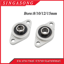 Zinc Alloy Diameter 8mm to 30mm Bore Ball Bearing Pillow Block Mounted Support KFL08 KFL000 KFL001 KFL002 KFL003.