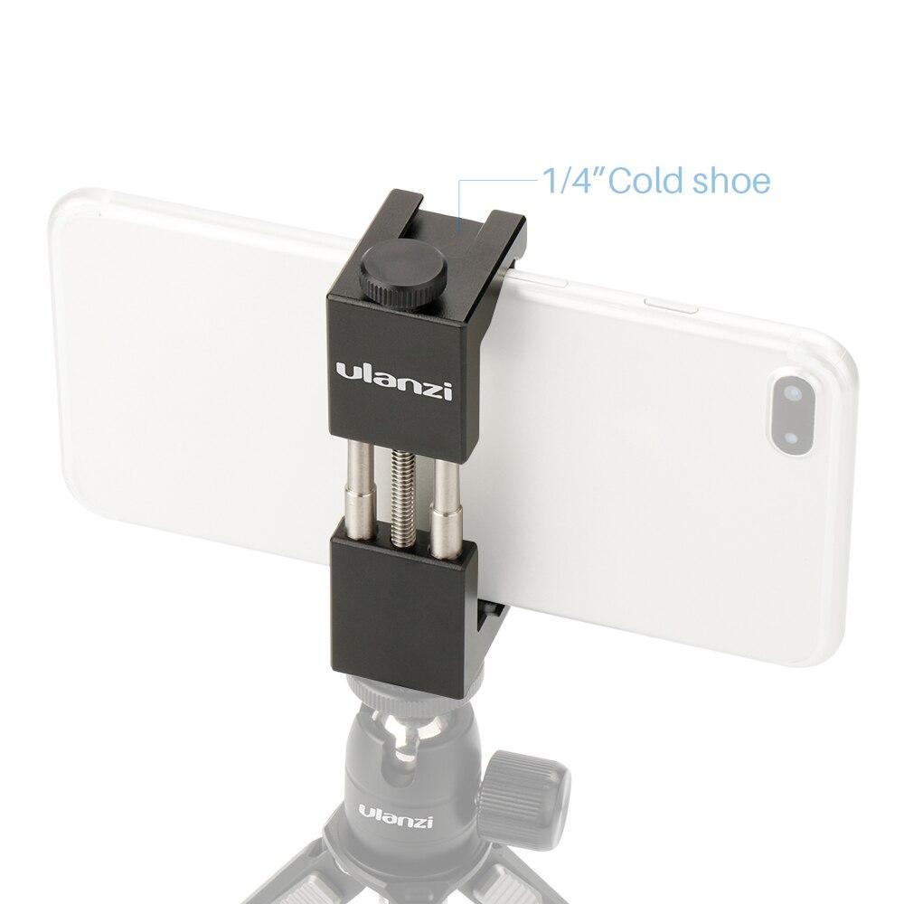 Универсальный держатель для смартфона с резьбовым креплением 1/4 дюйма и регулировкой высоты