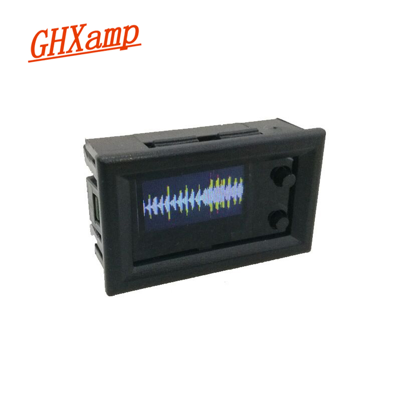 GHXAMP 0.96 Inch Miniature Color LCD Music Spectrum Display Module Shell IPS Screen Multi-mode Finished Product