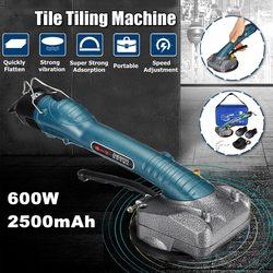 600W Machine à carrelage vibrateurs haute puissance carrelage Machine électrique carrelage vibrateur carrelage outil + 2x2500mAhBatteries