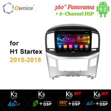 Ownice k3 k5 k6 2din Android 9,0 4G reproductor de Dvd de coche para Hyundai H1 Grand Starex 2015-2017 2018 DSP 360 Panorama SPDIF Radio GPS(China)