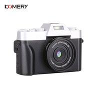 KOMERY New Arrivals Digital Camera 3.0 Inch LCD Flip Screen 4K Video Camera 16X Digital Zoom Support WIFI HD Output Selfie Cam
