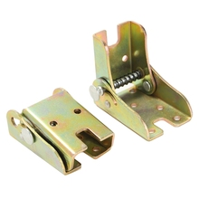 2Pcs Self Lock Folding Feet Hinges Metal for Table Leg Bracket for Sofa Bed Furnitures цена