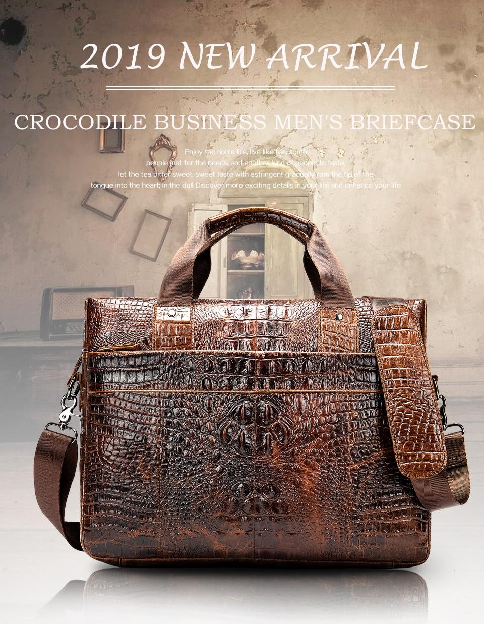 H1606f060cd404b0aad7f7ab208817dbeq WESTAL Men Briefcase Men's Bag Genuine Leather Office Bags for Men Laptop Bag Leather Briefcase Men Croco Design Computer Bags