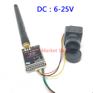 Image 3 - 5.8G FPV Receiver UVC Video Downlink OTG VR Android Phone+5.8G 25mW/200mW/600m Transmitter +CMOS 1200TVL Camera fpv for RC Drone