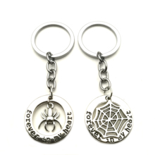 1 Forever in my heart Spider Web Charm Keychain Spider Memorial Jewelry Gift for Spider Lovers I Love My Spider courtney asunmaa beautiful lovers my love for her volume 2