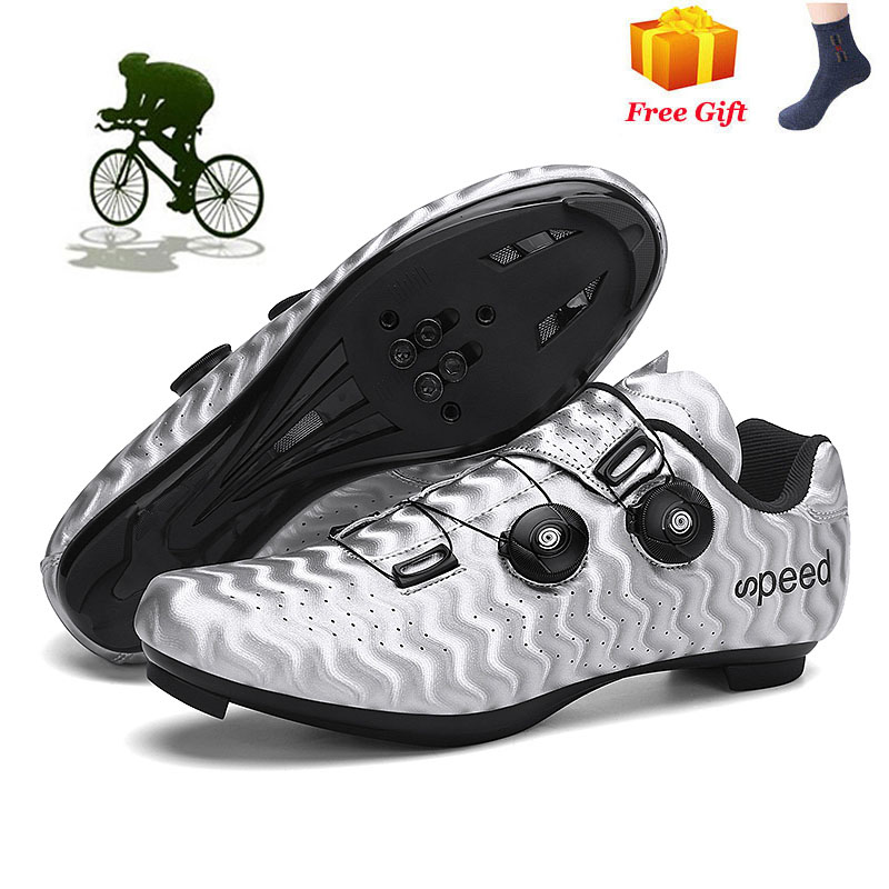 Ultralight Road City Cycling Shoes Professional Racing Spd Bike Bicycle Sneakers