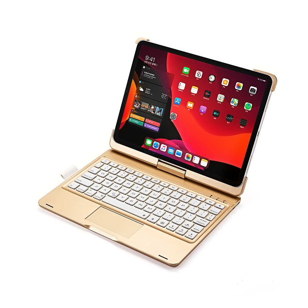 Rotatable Wireless Bluetooth Keyboard Case for Apple iPad Pro 11 inch 2nd Gen A2228 A2231 A2230