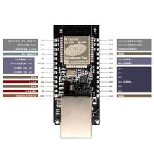 Wifi + bluetooth rj45 gateway dois-em-um incorporado ethernet módulo porta serial transparente transmissão WT32-ETH01