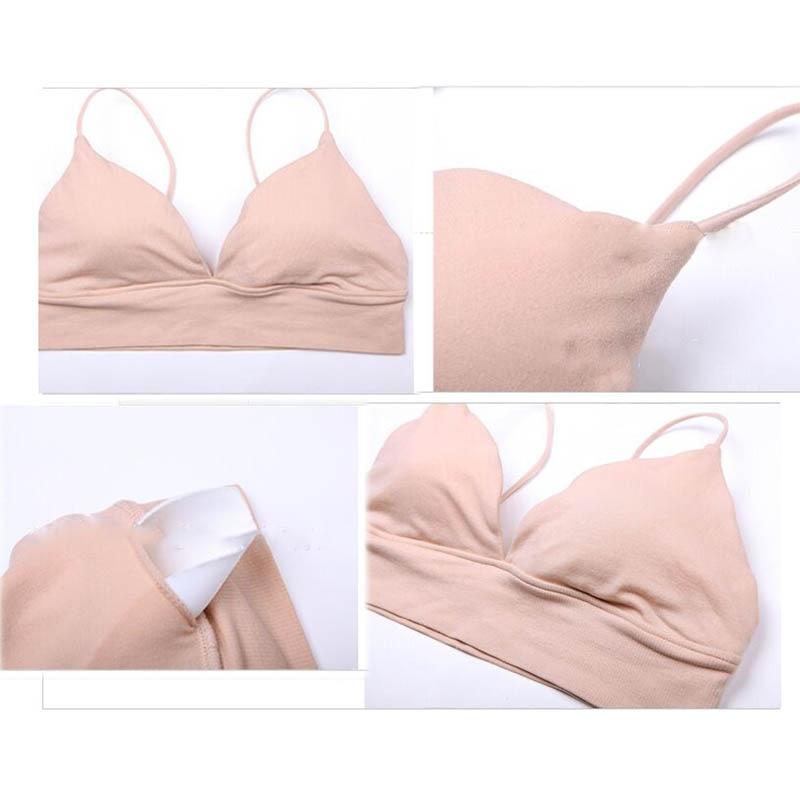 Teenage Girls Clothing Young Girl Underwear First Bra Puberty Kids Small  Cotton Training Bra Models Girl