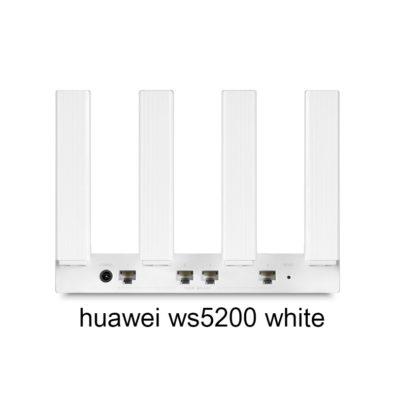 Huawei Router WS5200 Quad-core Full Gigabit Port Home WiFi Through Wall Dual-frequency Fiber Optic Large-family 5G Routing