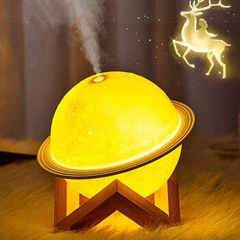 Humidificador de aire 3D, difusor de luz LED para lámpara de Luna,...
