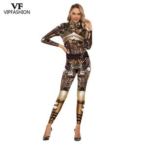 Image 1 - VIP FASHION High Quality New Long Sleeve Zipper Suit Cosplay Costume Steampunk Party Costumes Cosplay