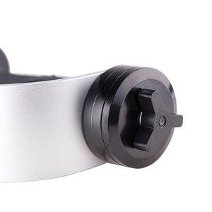 Image 5 - ユニバーサルポータブルアルミ合金カメラスタビライザーアクセサリー DV 多機能ハンドヘルド湾曲したデザインジンバルビデオ一眼レフ