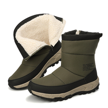 Sneaker Hiking-Shoes Sport-Boots Trekking High-Top Snow Outdoor Climbing Waterproof Winter