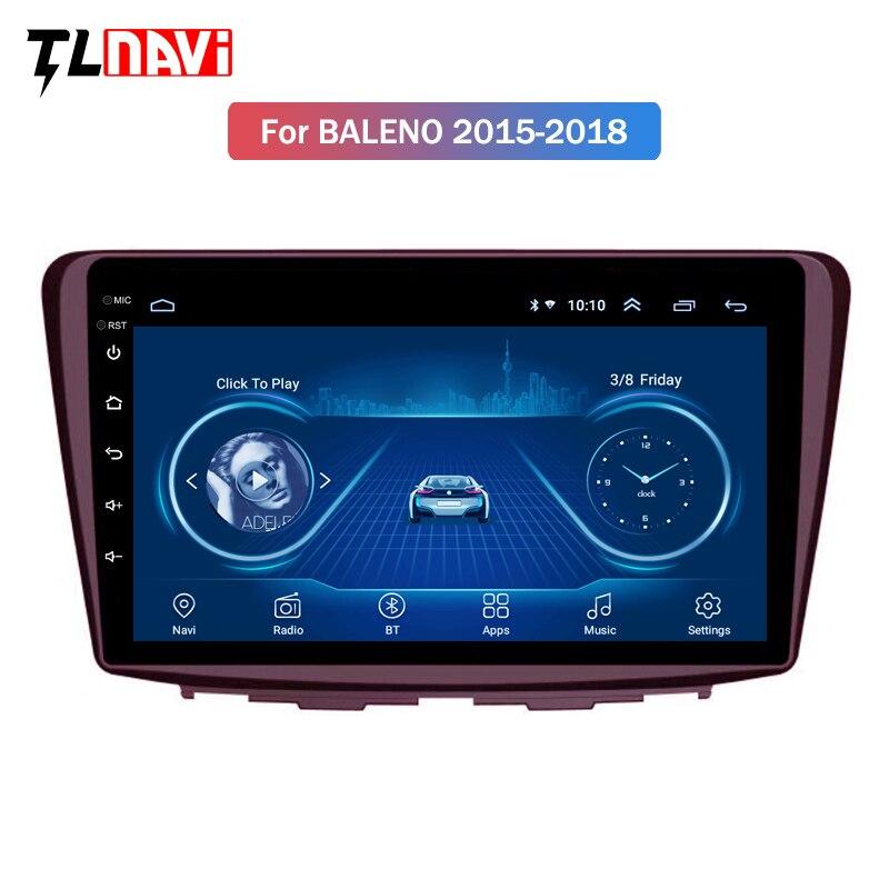 9 Inch Android 8.1 Car Dvd Gps Player For Suzuki Baleno 2015-2018 Radio Video Navigation