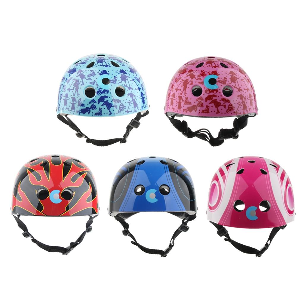 Kids Roller Skating Skateboarding Safety Helmet Outdoor Sports