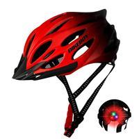 Fahrrad Helm Mit Warnung Licht Straße Radfahren MTB Mountainbike Professionelle Sport Sicherheit Helm Einstellbare Reiten Helm Heißer