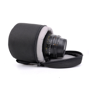 Image 4 - 7.5x9cm Camera Lens Pouch Lens Case Bag for 18 55mm 50mm f/1.8  35mm Canon Nikon