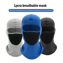 Motocykl ochrona przed słońcem i pyłoszczelna nakrycia głowy jazda kapelusz kaptur wiatroszczelna odkryty tactical bandana maska maska przeciwpyłowa tanie tanio Sfit HK (pochodzenie) COTTON Poliester Stałe
