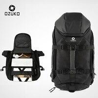 OZUKO zaino da viaggio per uomo nuovo borsa per Laptop da 17 pollici di grande capacità zaini da alpinismo multifunzione da uomo borsa sportiva all'aperto
