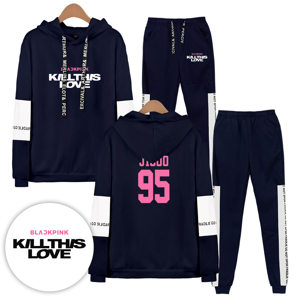 Hot Sales South Korea Band BLACKPINK Killthislove New Series Related Products Fashion Joint Set
