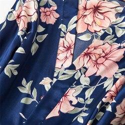 5 шт. Женская мода Экзотический набор сексуальный шелк кружево сатин халат банный халат брюки нижнее белье-шорты набор пижамы одежда для сна... 6