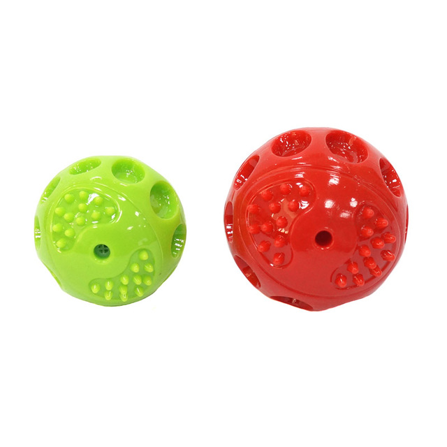 Durable Floatable Springy Squeaking Bouncing Ball - Bite Resistant for Small to Large Dogs 6