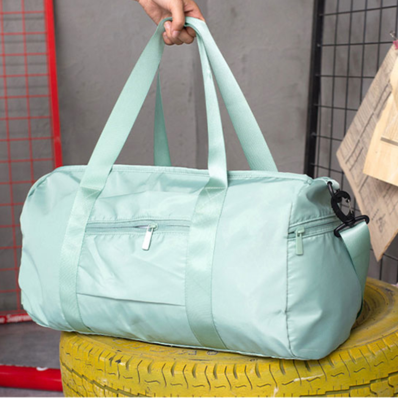 2019 Men Women Travel Bag Yoga Fitness Shoulder Portable Bag Dry And Wet Separation Organizer Hand Shoe Pouch Duffel Bag