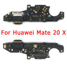 Original USB Charge Board for Huawei Mate 20 X Charging Port For Mate20 X PCB Dock Connector Flex Cable Replacement Spare Parts(China)