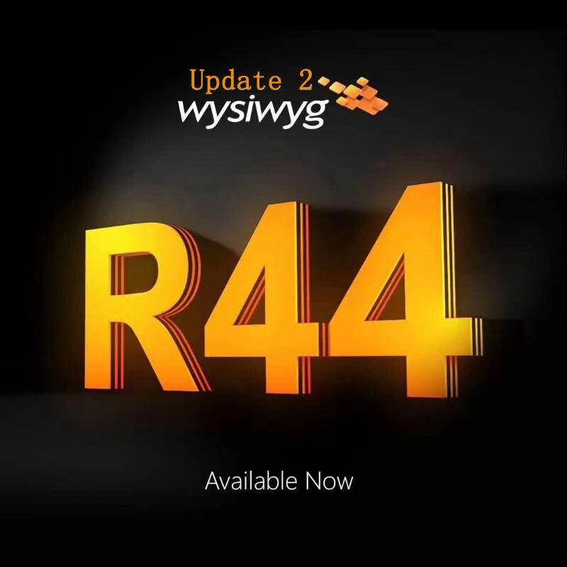 WYSIWYG выпуск 44 R44 преформ ключ wysiwyg R44 arkaos realizzer timelord avolites ma 2 grandma 2 artnet DMX512