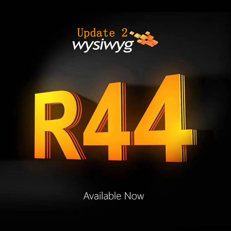 Wysiwyg liberação 44 r44 pré-forma dongle wysiwyg r44 arkaos realizador timelcompute avolites ma 2 avó 2 artnet dmx512
