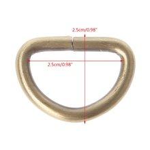 10 шт 25 мм внутренняя ширина металлические полукруглые несварные