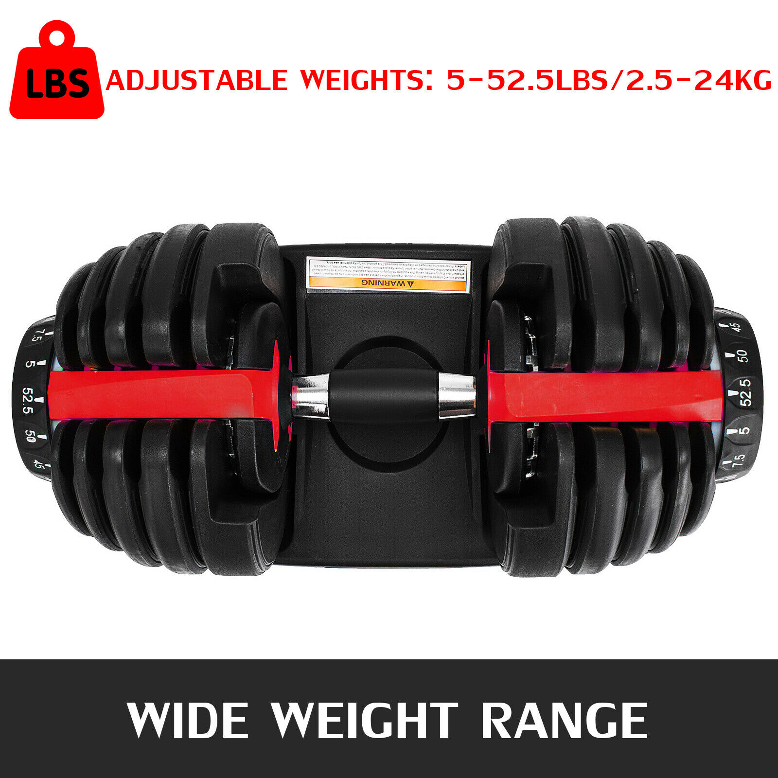FEB 2021 PRE ORDER 24kg Adjustable Dumbbells Home Workout GYM Exercise Weights