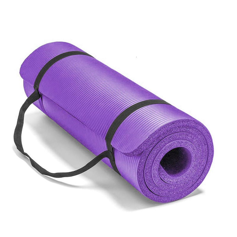 Buy 20mm Super Thick Fitness Yoga Mat Premium Nbr Pilates Exercise Gymnastics Dance Mats Yoga Gym Supply Diy Print Geekyviews