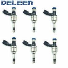 Injector de combustível de alta impedância fj1157/fj1059/12629927 gdi deleen 6x para audi acessórios do carro