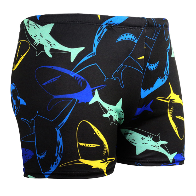 Currently Available Wholesale Summer New Style Fashion MEN'S Swimming Trunks Boxer MEN'S Swimming Trunks
