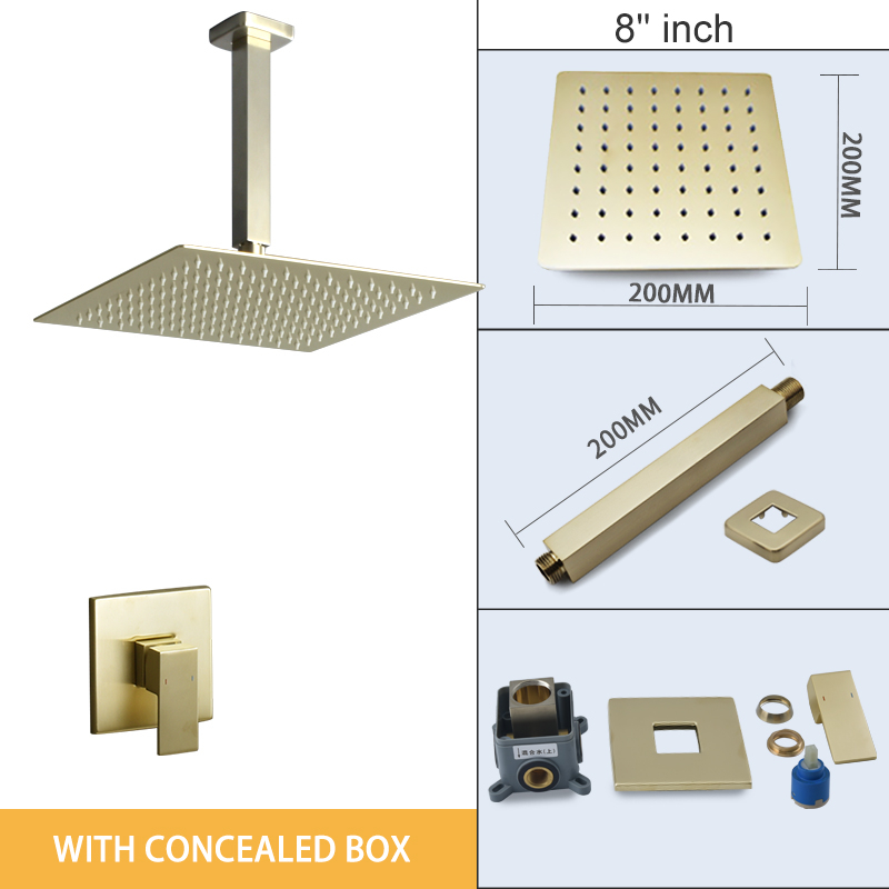 conceal box 8 inch