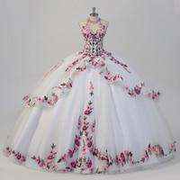 2021 White Quinceanera Dresses Special Occasion Debutante Quince Ball gown Sweet 16 Dress vestidos de festa de 15 anos