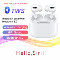 High Quality 1:1 Airphone Bluetooth 5.0 Wireless Earphones Stereo Sound Effect Long Standby Earbuds with Charging Case