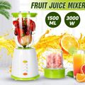 1500ML Multi-functionele Voeding Machine Sap blenders Fruit Juicer Mixer Timer-Blenders Ijs-Crusher Voedsel- processor Smoothies