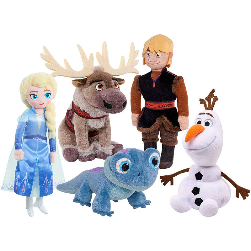 2020 New Hot Sale Disney Frozen 2 Olaf Lizard Stuffed Plush Doll Party Decoration Action Figure Kids Birthday Gift Children Toy