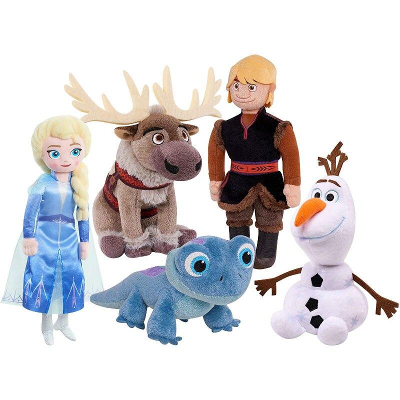 2020 New Hot Sale Disney Frozen 2 Olaf Lizard Stuffed Plush Doll Party Decoration Action Figure Kids Birthday Gift Children Toy