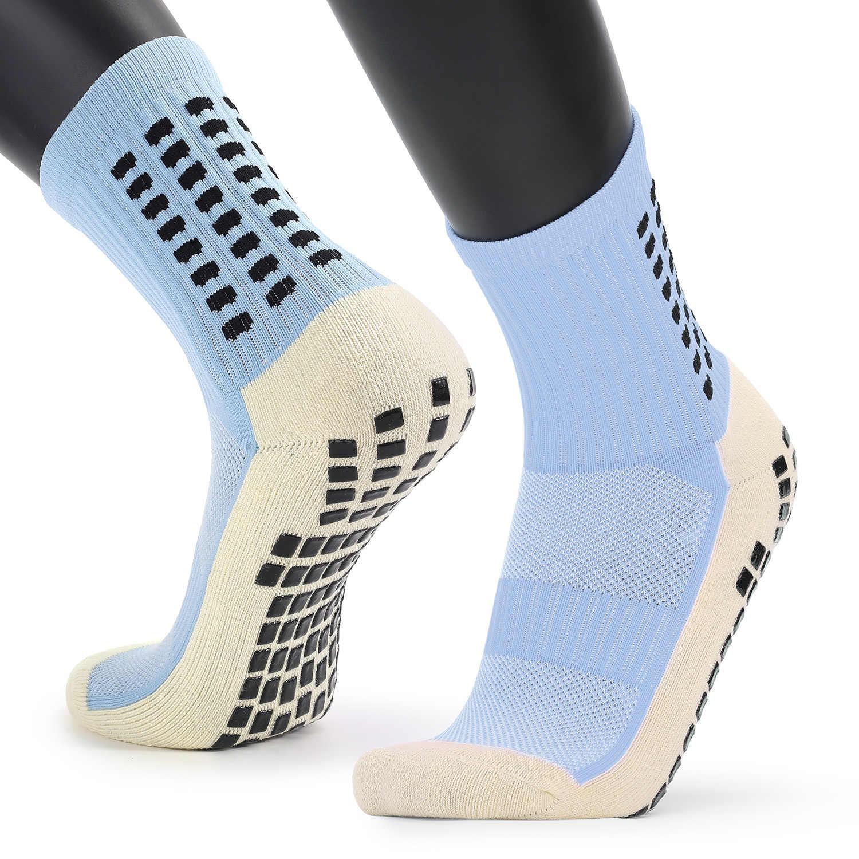 Men/'s Anti Slip Football Socks Compression Athletic Socks for Basketball Soccer