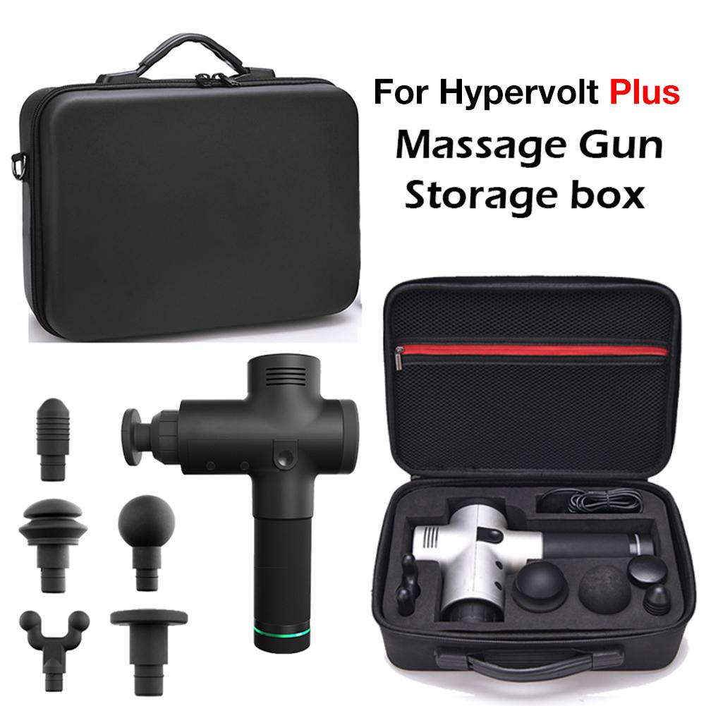 Portable Case For Hypervolt Plus Massager Hard Shell Protective Storage Pouch Waterproof Scratch Proof Anti Shock Bag