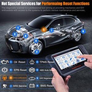 Image 3 - Herramienta de escaneo diagnóstico de coche, dispositivo con todos los sistemas y 21 servicios, IMMO, restablece el aceite, EPB, BMS, SAS, DPF, ABS, Autel MaxiCOM MK808BT