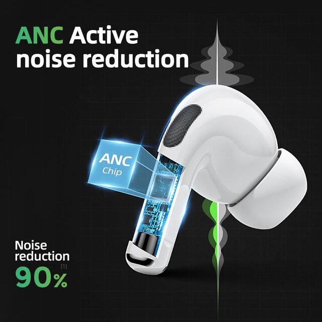 Joyroom T03 Pro Tws Bluetooth Oortelefoon Noice Cancelling Draadloze Hoofdtelefoon Oordopjes In-Ear True Nieuwe Verbeterde Airpodering 2020