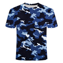 2021 New quick dry outdoor T-shirt, 3D camouflage Crew Neck Long Sleeve military camouflage T-shirt