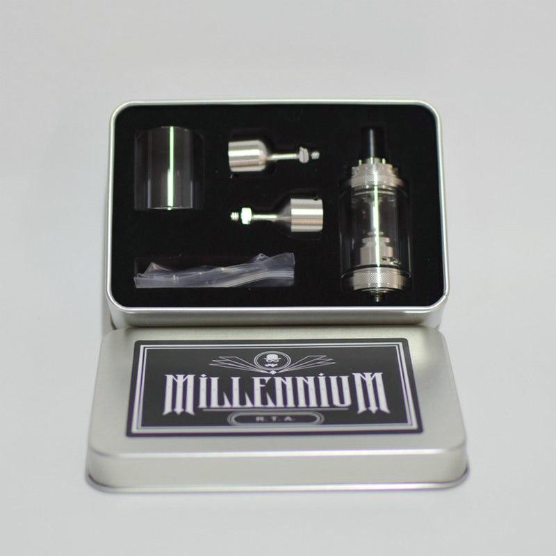 316 Ss Millennium Rta 22mm Diameter Airflow With 3 Bells 6 Air Holes Millennium Tank Vs TaiFun V5 Kayfun Lite